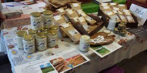 Assortiments miel, infusions, plantes